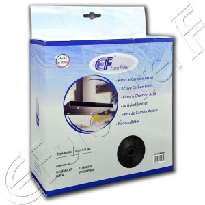 Charcoal active filter Euro Filter FKS049