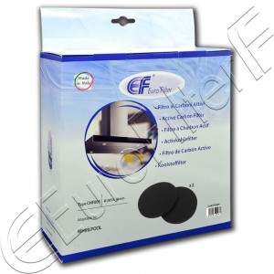 Charcoal active filter Euro Filter FKS205