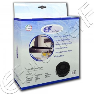 Charcoal active filter Euro Filter FKS208