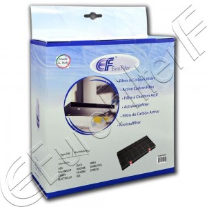 Charcoal active filter Euro Filter FKS271