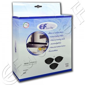 Charcoal active filter Euro Filter FKS104