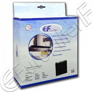 Charcoal active filter Euro Filter FKS333