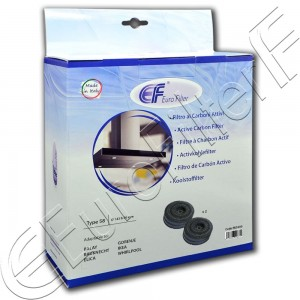 Charcoal active filter Euro Filter FKS380