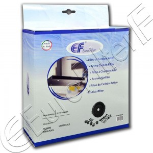 Charcoal active filter Euro Filter FKS505