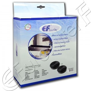 Charcoal active filter Euro Filter FKS142