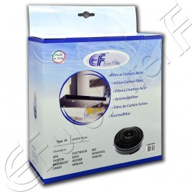 Charcoal active filter Euro Filter FKS039