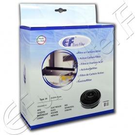 Filtro carbone attivo Euro Filter FKS039