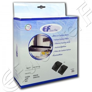 Charcoal active filter Euro Filter FKS397