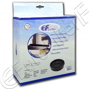Charcoal active filter Euro Filter FKS151