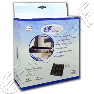 Charcoal active filter Euro Filter FKS162