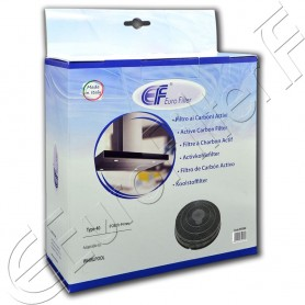 Charcoal active filter Euro Filter FKS040